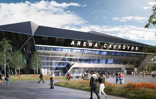 Cardiff Bay's Atlantic Wharf masterplan includes new Arena